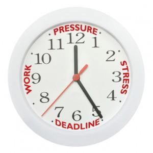 Work deadline stress