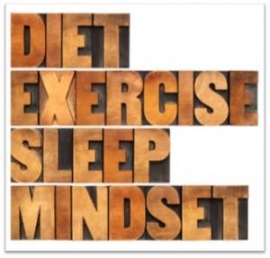 DietExerciseSleepMindset
