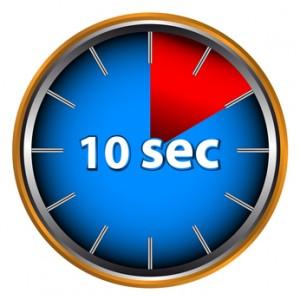 Ten seconds