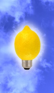 Not all ideas are good ones - some are just lemons