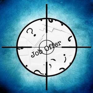 Job offer target