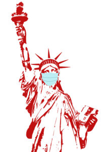 Statue of Liberty, Mask, C19